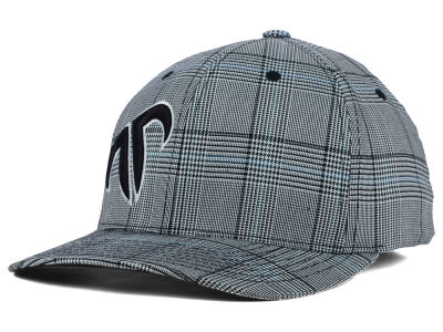 Rank Bull Icon Glen Plaid Flex Cap