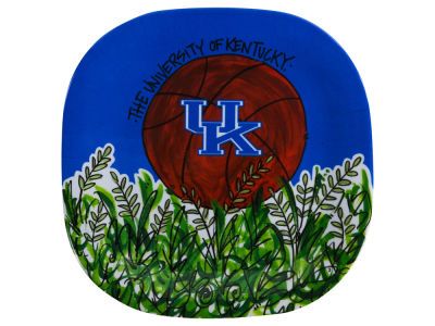 Kentucky Wildcats Melamine Basketball Plate