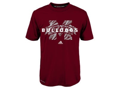 Mississippi State Bulldogs NCAA Youth Sideline Stitch Climalite T-Shirt