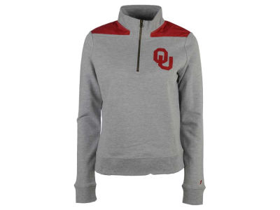 Oklahoma Sooners NCAA Women's Phys. Ed Quarter Zip Pullover Shirt