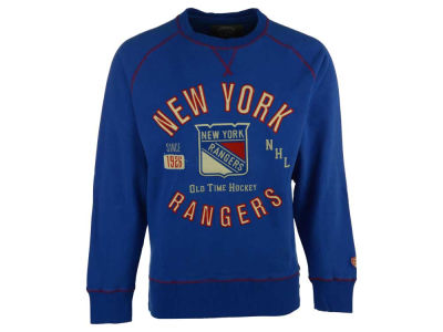 New York Rangers NHL Men's Ponca Crew Neck Sweatshirt