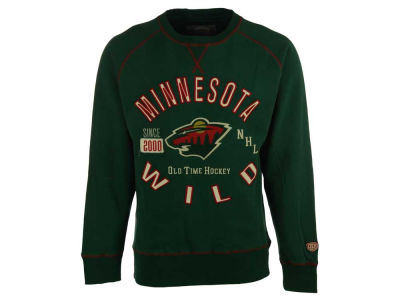 Minnesota Wild NHL Men's Ponca Crew Neck Sweatshirt