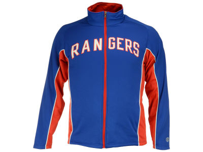 New York Rangers NHL Men's Seward Track Jacket