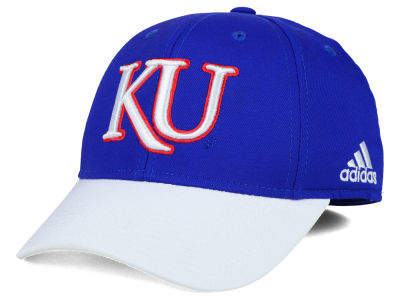 Kansas Jayhawks adidas NCAA Structured Flex Cap