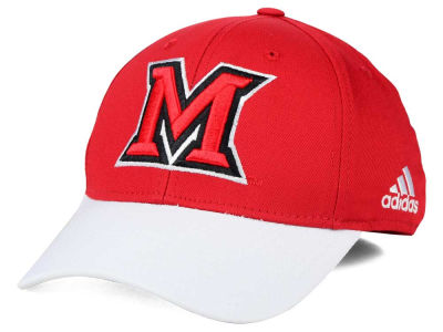 Miami (Ohio) Redhawks adidas NCAA Structured Flex Cap