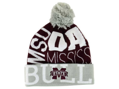 Mississippi State Bulldogs adidas NCAA Cuffed Pom Knit