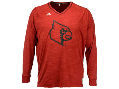 Louisville Cardinals adidas NCAA Men's On Court Long Sleeve Shooter T-Shirt