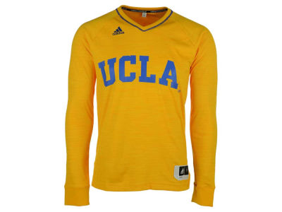 UCLA Bruins adidas NCAA Men's On Court Long Sleeve Shooter T-Shirt