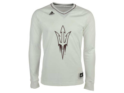 Arizona State Sun Devils adidas NCAA Men's On Court Long Sleeve Shooter T-Shirt