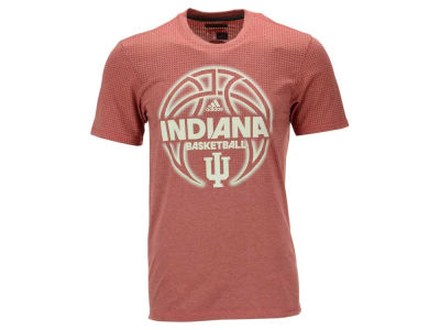 Indiana Hoosiers adidas NCAA Men's Basketball Fired Up T-Shirt