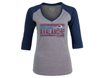 Colorado Avalanche NHL Women's Amherst Raglan T-Shirt