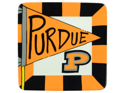 Purdue Boilermakers Square Plate