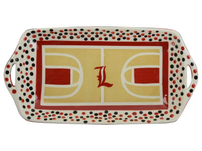 Louisville Cardinals Basketball Court Tray