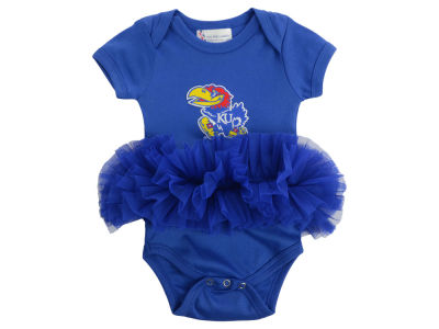 Kansas Jayhawks NCAA Newborn Girls Tutu Romper