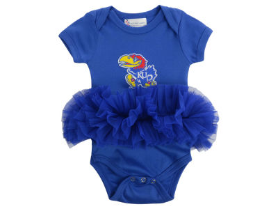 Kansas Jayhawks NCAA Infant Girls Tutu Romper