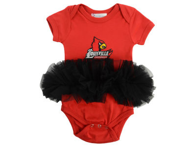 Louisville Cardinals Atlanta Hosiery NCAA Infant Girls Tutu Romper