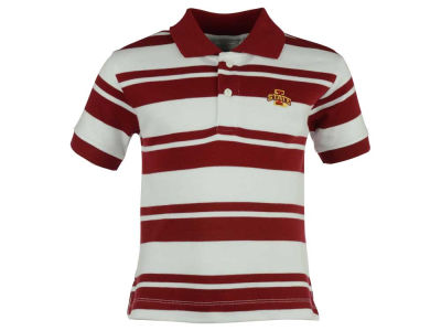 Iowa State Cyclones NCAA Toddler Rugby Golf Polo Shirt