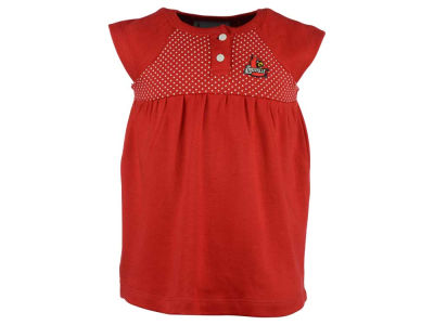 Louisville Cardinals Atlanta Hosiery NCAA Toddler Girls Pin Dot Dress