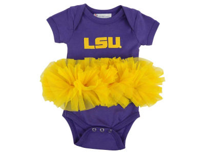 LSU Tigers Atlanta Hosiery NCAA Infant Girls Tutu Romper