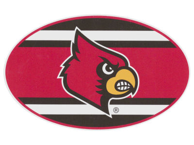 Louisville Cardinals 5x7 Super Stripe Decal