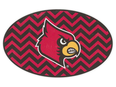 Louisville Cardinals 5x7 Chevron Decal