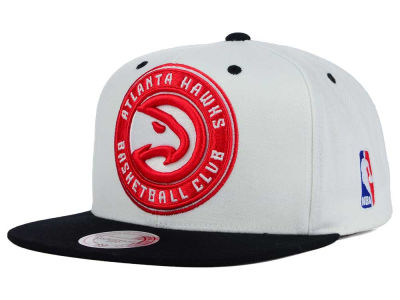 Atlanta Hawks Mitchell and Ness NBA Undertime Snapback Cap