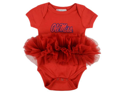 Ole Miss Rebels NCAA Newborn Girls Tutu Romper