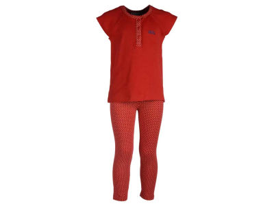 Ole Miss Rebels NCAA Toddler Girls Pin Dot Shirt and Legging Outfit