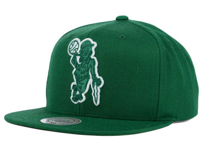 Boston Celtics Mitchell and Ness NBA Undeterred Snapback Cap