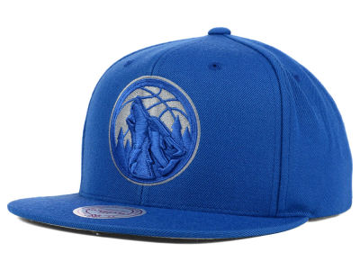 Minnesota Timberwolves Mitchell and Ness NBA Undeterred Snapback Cap