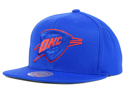 Oklahoma City Thunder Mitchell and Ness NBA Undeterred Snapback Cap