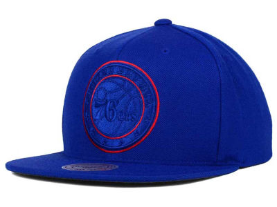 Philadelphia 76ers Mitchell and Ness NBA Undeterred Snapback Cap