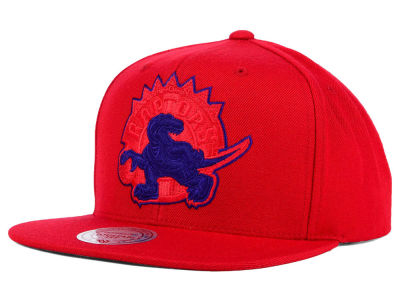 Toronto Raptors Mitchell and Ness NBA Undeterred Snapback Cap