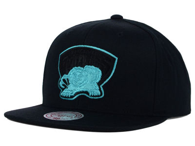 Vancouver Grizzlies Mitchell and Ness NBA Undeterred Snapback Cap