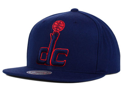 Washington Wizards Mitchell and Ness NBA Undeterred Snapback Cap