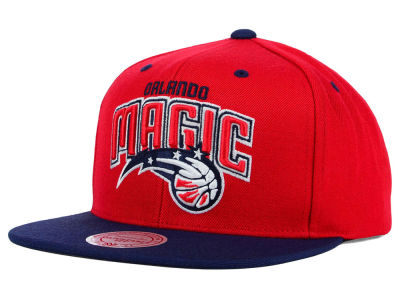 Orlando Magic Mitchell and Ness NBA American Hoops Snapback Cap