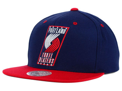 Portland Trail Blazers Mitchell and Ness NBA American Hoops Snapback Cap
