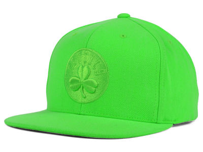 Boston Celtics Mitchell and Ness NBA Highlight Snapback Cap
