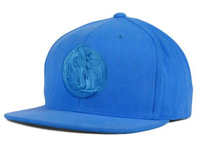 Dallas Mavericks Mitchell and Ness NBA Highlight Snapback Cap