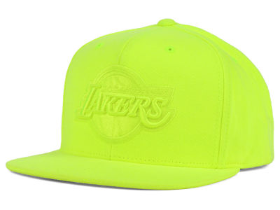 Los Angeles Lakers Mitchell and Ness NBA Highlight Snapback Cap