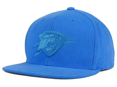 Oklahoma City Thunder Mitchell and Ness NBA Highlight Snapback Cap