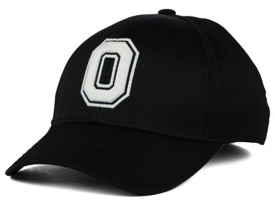 Ohio State Buckeyes J America NCAA Button Up Block Stretch Hat