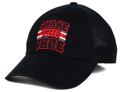 Ohio State Buckeyes J America NCAA Shake the Shoe Flex Mesh Hat