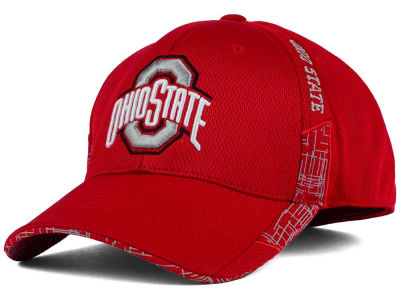 Ohio State Buckeyes J America NCAA Circuit Tech Flex Hat
