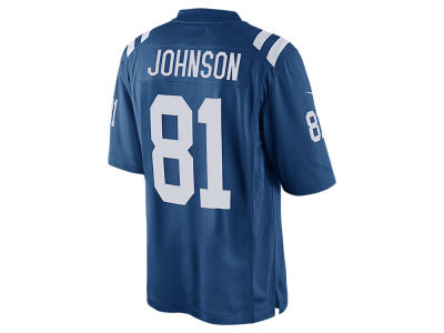 Indianapolis Colts Andre Johnson Nike NFL Youth Game Jersey