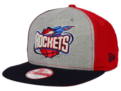 Houston Rockets New Era NBA HWC Tri-Top 9FIFTY Snapback Cap