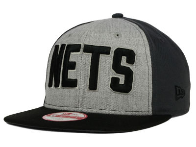 New Jersey Nets New Era NBA HWC Tri-Top 9FIFTY Snapback Cap
