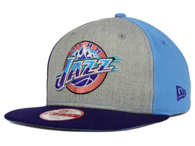 Utah Jazz New Era NBA HWC Tri-Top 9FIFTY Snapback Cap