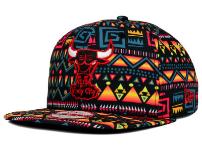 Chicago Bulls New Era NBA HWC Tribe Called 9FIFTY Snapback Cap