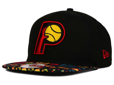 Indiana Pacers New Era NBA HWC Tribe Called 9FIFTY Snapback Cap